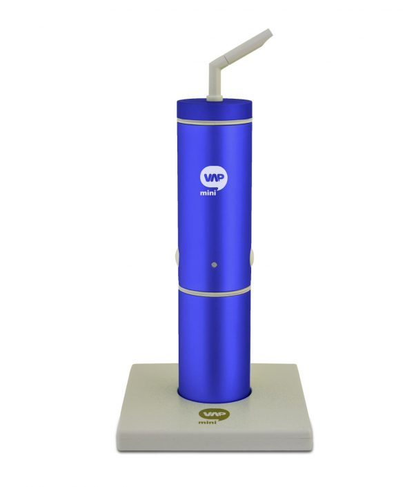 MiniVAP portable vaporizer - limited edition blue