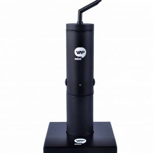 MiniVAP portable - black vaporizer with charging base