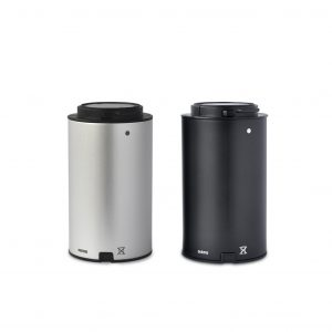 MiniVAP battery, silver and black